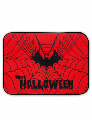 Alfombrilla luminosa y sonora tela de araña Halloween