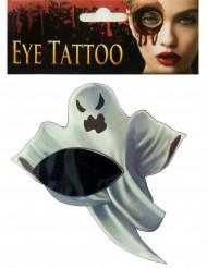 Tatuaje para ojo fantasma adulto Halloween