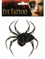 Tatuaje para ojo araña adulto Halloween