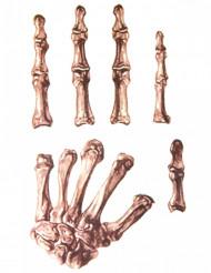 Tatuajes para mano esqueleto adulto