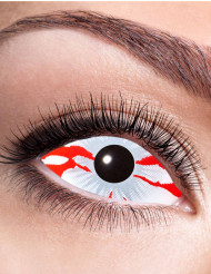 Lentillas fantasía Sclera ojo sangrando adulto Halloween