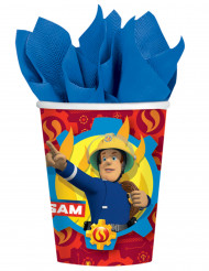 8 vasos de cartón Sam el Bombero™