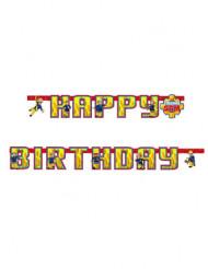 Guirnalda Happy Birthday Sam el Bombero™ 180 cm