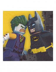 20 Servilletas de papel LEGO Batman™