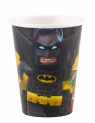 8 Vasos de cartón Lego Batman™