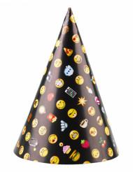 8 Sombreros de fiesta Smiley Emoticons™