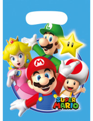 8 bolsas de fiesta Mario