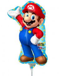 Globo de aluminio inflado Super Mario 20x30cm