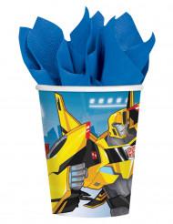 8 vasos de cartón Transformers Robots In Disguise™