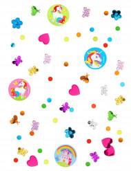 Confetis Unicornio Arcoíris