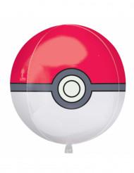 Globo de aluminio Poké ball Pokémon™ 38x40 cm