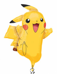 Globo aluminio Pikachu Pokémon™ 62x78 cm