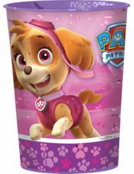 Vaso de plástico rosa Patrulla Canina™ 473ml