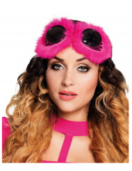 Gafas fantasía mujer rosa Steampunk