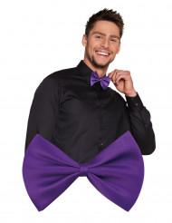 Pajarita violeta adulto