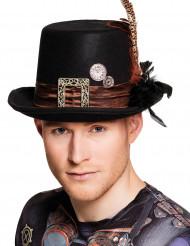 Sombrero de copa adulto Steampunk
