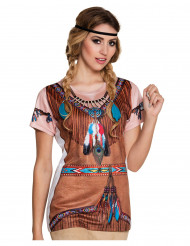 Camiseta india Mujer