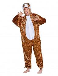 Disfraz de tigre peluche adolescente