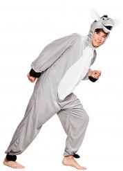 Disfraz de burro peluche adolescente