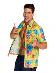 Camisa Flores Hawaianas Adulto