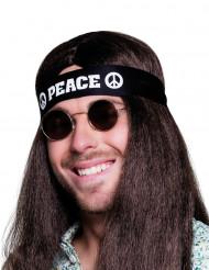 Diadema negra Peace Adulto