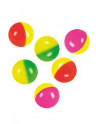 Pelotas de rebote coloridas 3 cm