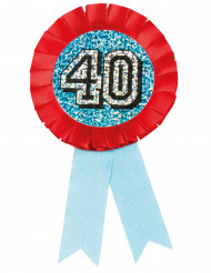 Medalla holográfica 40