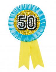 Medalla holográfica 50
