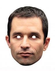 Máscara de cartón Benoît Hamon