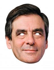 Máscara de cartón François Fillon