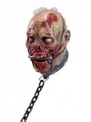 Máscara zombie esclavo adulto