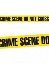 Decoración Halloween cinta para lugar del crimen