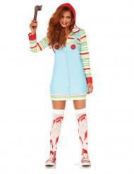 Disfraz muñeca asesina mujer