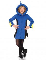 Disfraz pez azul con capucha niño