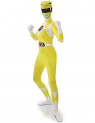 Disfraz de Power Rangers™ amarillo Mujer