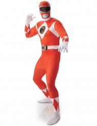 Disfraz Segunda Piel Power rangers™ Rojo Hombre