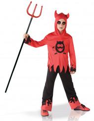 Disfraz diablo ojos móviles niño
