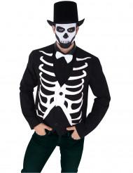 Chaleco esqueleto hombre