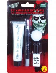 kit maquillaje fosforito adulto