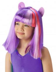 Peluca twilight Sparkle™ My Little Pony™ Niña