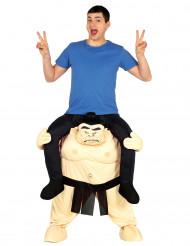 Disfraz hombre sobre luchador sumo adulto