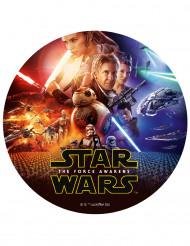 Disco de azúcar Star wars VII™ 20cm