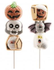 Brocheta de malvadisco Halloween aleatorio