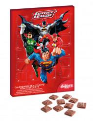 Calendario de adviento chocolatinas La Liga de la Justicia™