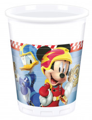 6 Vasos de plástico 200 ml Mickey y los superpilotos™