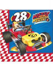 20 servilletas de papel 33x33 Mickey y los superpilotos™