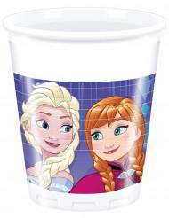 8 Vasos de plástico 200 ml Frozen™