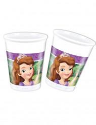 6 Vasos de plástico 20 cl Princesa Sofía hace una amiga™
