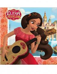 20 servilletas de papel 33x33 Elena de Avalor