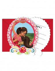 6 tarjetas de invitación +sobres Elena de Avalor™